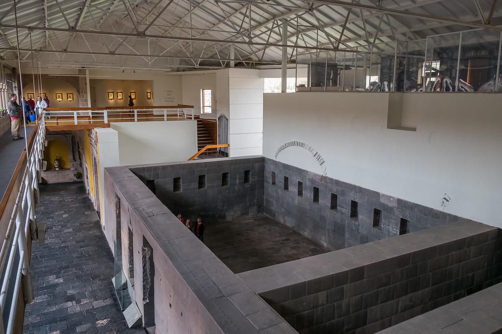 Koricancha o Convento Santo Domingo-dentro