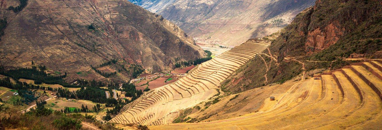 Valle sagrado de los incas en peru cusco